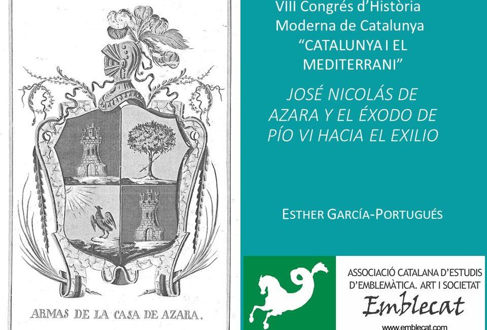 VIII CONGRÉS D'HISTORIA MODERNA DE CATALUNYA